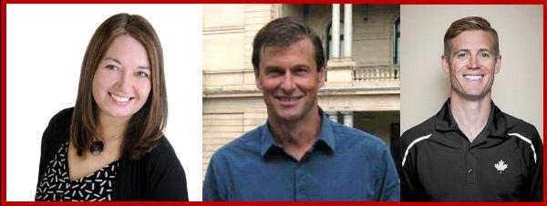 Shelley Callaghan, Ian Soellner, and Joshua Riker-Fox